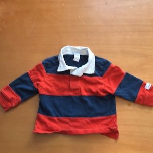 Janie and Jack Rugby shirt 12-18 months